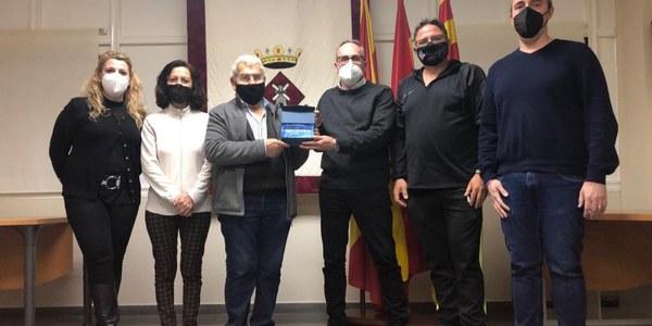 Acte de reconeixement de Benavent de Segrià a Fèlix Magrí, jutge de pau els darrers 26 anys