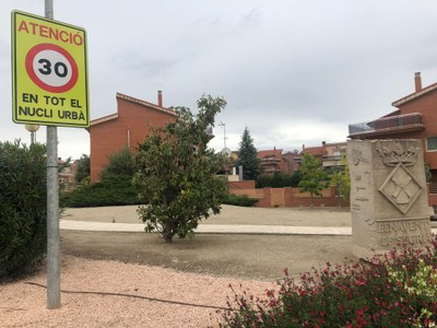 Benavent de Segrià adapta la seva senyalització a la nova normativa que situa la velocitat màxima a 30 quilòmetres per hora