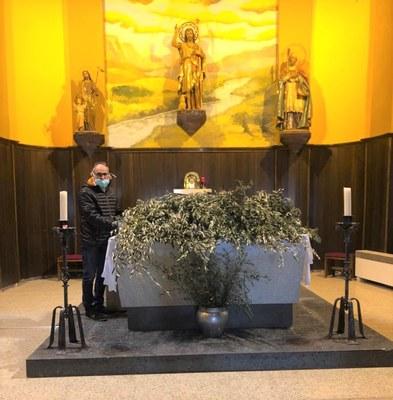 Benavent de Segrià celebrarà el Diumenge de Rams des del balcó