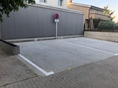 Benavent de Segrià equipa el consultori mèdic amb nous aparcaments