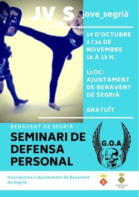 Formació gratuïta en defensa personal - Joves de 12 a 29 anys