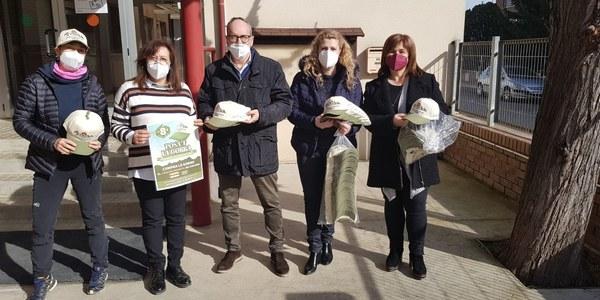 L'Ajuntament ajuda a visibilitzar el Posa't la gorra entre els escolars de Benavent de Segrià