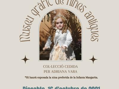 L'Ajuntament de Benavent de Segrià inaugura el Museu gràfic de nines antigues