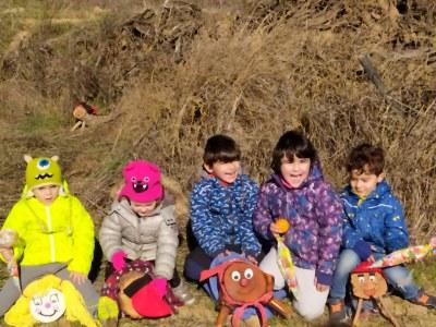Un centenar d'infants troben el seu el tió a Benavent de Segrià